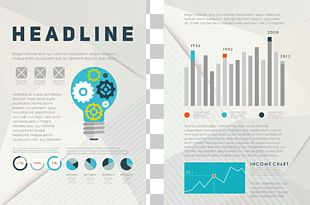 Flyer Template Brochure Infographic PNG