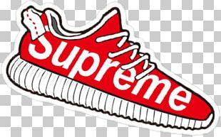 Supreme Sticker Adidas Yeezy PNG