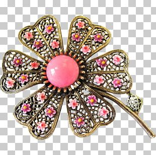 Jewellery Brooch Clothing Accessories Gemstone Ruby PNG