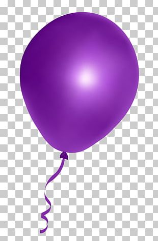 Balloon Purple PNG