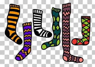 Sock Stocking Graphic Design Drawing PNG