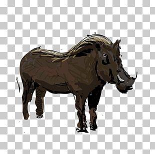 Animal Figurine Sculpture African Buffalo Art PNG