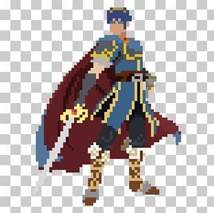 Marth Fire Emblem: Path Of Radiance Pixel Art PNG