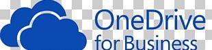 OneDrive Microsoft Office 365 Cloud Computing File Hosting Service Cloud Storage PNG