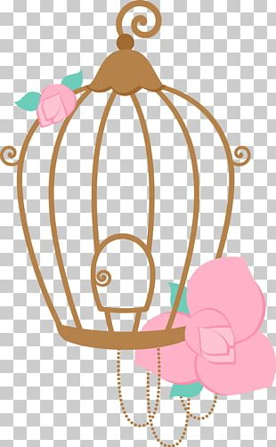 Convite Birdcage PNG