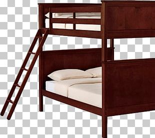 Bunk Bed Trundle Bed Table Furniture PNG