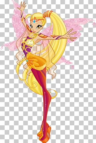 Fairy Stella Bloom Musa Flora PNG