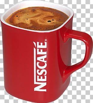 Instant Coffee Tea Mug Nescafé PNG
