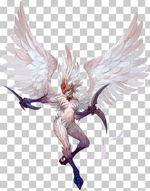 Dragon Nest Harpy Model Sheet Character PNG