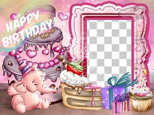 Birthday Frames Child Party PNG