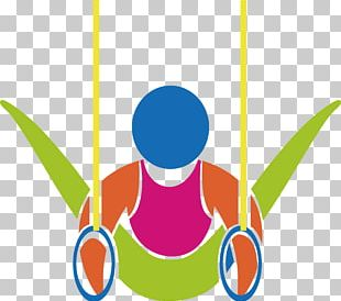 Gymnastics Rings Parallel Bars Icon PNG