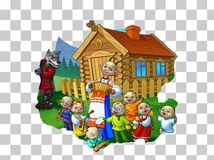The Wolf And The Seven Young Goats Gray Wolf Animaatio Computer Animation PNG