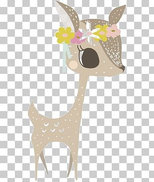 Deer Sticker Wall Decal Paper Bedroom PNG