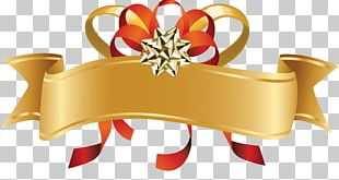 Red Ribbon Gift PNG