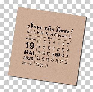 Save The Date Paper Dragée Place Cards Marriage PNG
