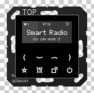 Smart Radio FM Broadcasting Internet Radio Radio Data System PNG