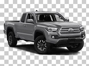 2018 Toyota Tacoma TRD Sport Pickup Truck Four-wheel Drive V6 Engine PNG
