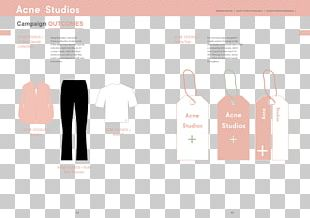 Acne Studios Brand Swing Tag Marketing PNG