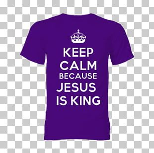 T-shirt Keep Calm And Carry On Poster United States PNG