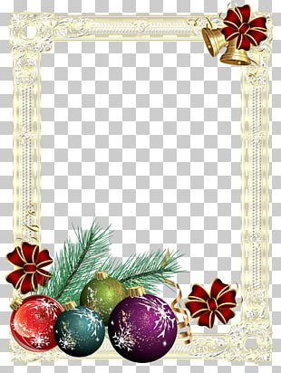 Frames Christmas Card PNG