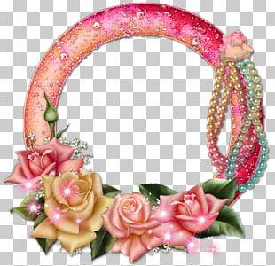 Floral Design Flower Frames Molding PNG