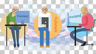 Front And Back Ends Solution Stack Backend Web Developer Front-end Web Development PNG
