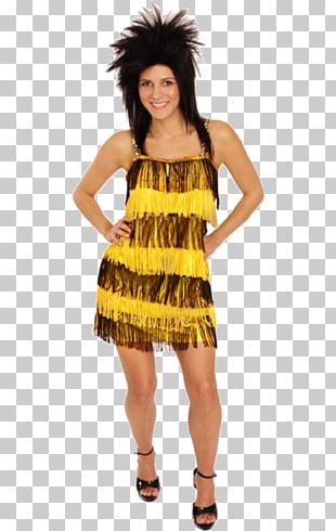 Tina Turner Costume Cocktail Dress Fashion PNG