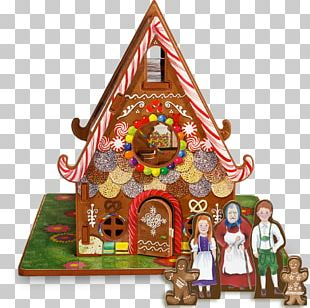 Hansel And Gretel Gingerbread House Fairy Tale House Plan PNG
