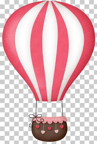 Hot Air Balloon Pastel PNG