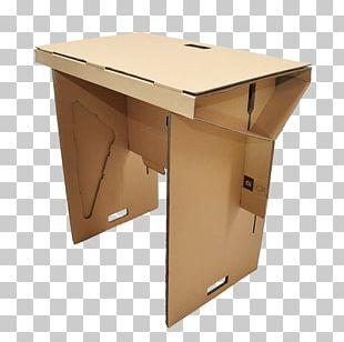 Paper Standing Desk Cardboard PNG