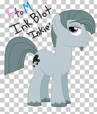 Pinkie Pie Ink Blot Test Fan Art Horse PNG