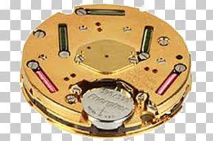 Quartz Clock Movement Watch PNG