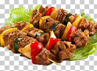 Shashlik Barbecue Venison Meat Skewer PNG