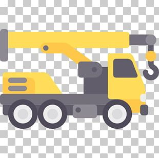 Crane Architectural Engineering Heavy Machinery Excavator Transport PNG
