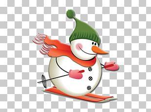 Snowman Christmas Day Cartoon PNG