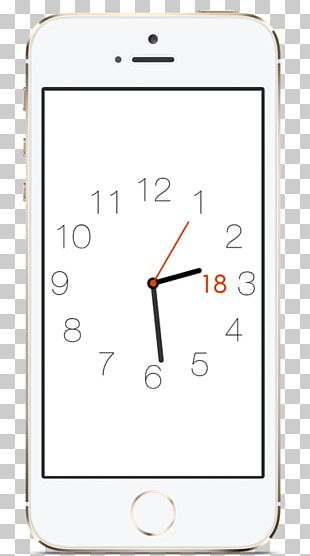 Alarm Clocks Mobile Phone Accessories Watch Font PNG