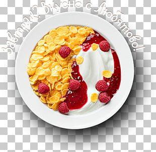 Corn Flakes Breakfast Cereal Frozen Dessert Dish PNG