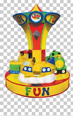 Jolly Roger Amusement Park Toy Carousel Kiddie Ride PNG