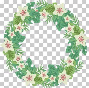 Flower Wreath PNG