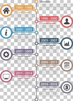 Infographic Timeline Illustration PNG