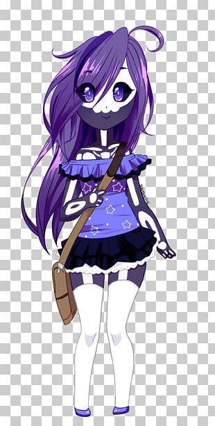 Black Hair Mangaka Brown Hair Character PNG