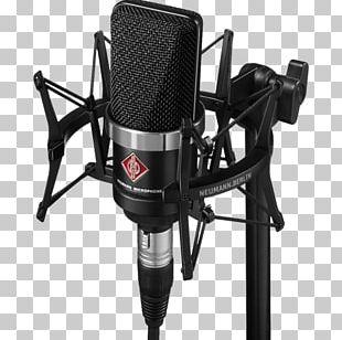 Microphone Neumann TLM 102 Recording Studio Neumann EA 4 Shockmount Georg Neumann PNG