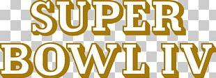 Super Bowl IV Kansas City Chiefs Minnesota Vikings NFL PNG