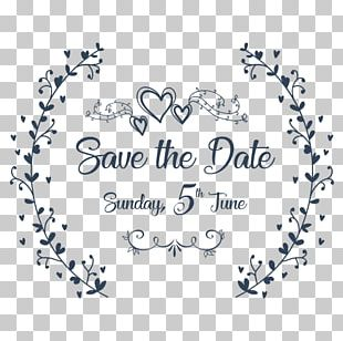 Wedding Invitation Save The Date Marriage PNG