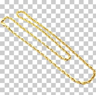 Body Jewellery Necklace Rope Chain PNG