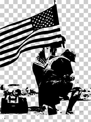 Memorial Day Black And White Veterans Day Poster PNG