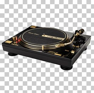Disc Jockey Gramophone Gold Direct-drive Turntable Turntablism PNG