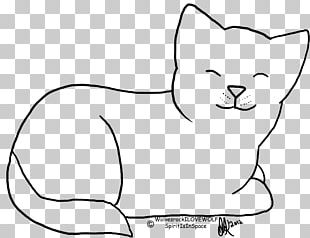 Kitten Whiskers Black And White Domestic Short-haired Cat PNG