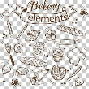 Bakery Cupcake Bread Baking PNG