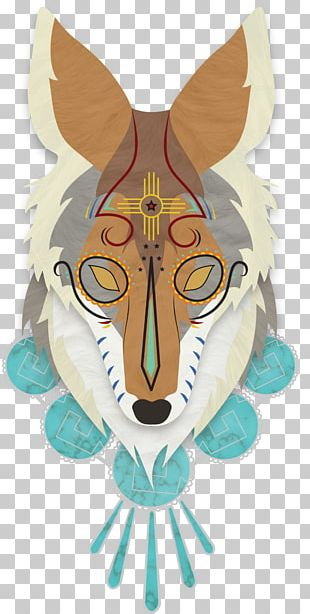 Coyote Dog Day Of The Dead Death PNG